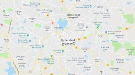 Hyderabad accident, NICMAR students dead, Hyderabad road accident, hit and run accidents, female students dead, indian express
