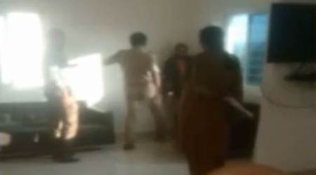 Hyderabad: Video of cop assaulting short-film director goes viral