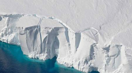 East Antrarctica ice sheet, Sabrina coast glaciers, Aurora Basin, seafloor, University of Texas Dallas, climate change, West Antractica, Greenland, gloabl sea levels, geological formations, interglacial periods