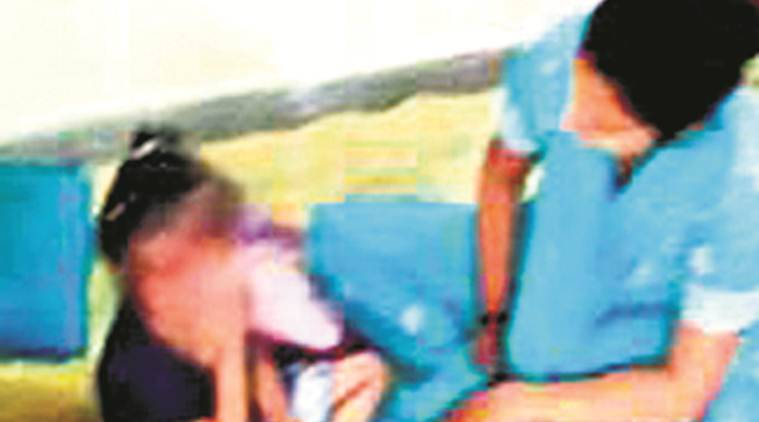 woman booked for thrashing  injuring stepdaughter