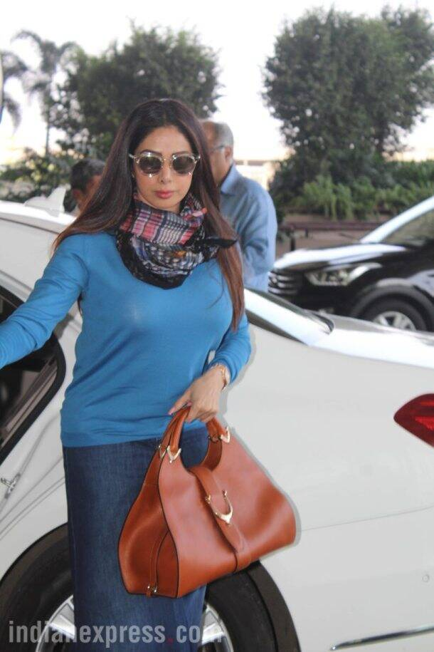 bollywood celeb spotted photos of jacqueline fernandez, sridevi, varun dhawan and others