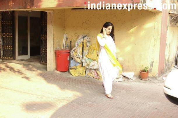 sarah ali khan spotted in the city spotted in the city