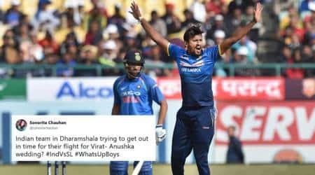 India v Sri Lanka: Twitterati turn sarcastic as Men in Blue lose 1st ODI in Dharamsala
