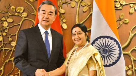 Siang river water, Siang water contamination,India-China, Sushma Swaraj-Wang yi meet, siang river, Xiang river, India news, Indian Express news