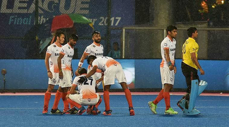 India were beaten by Argentina in the semi-final
