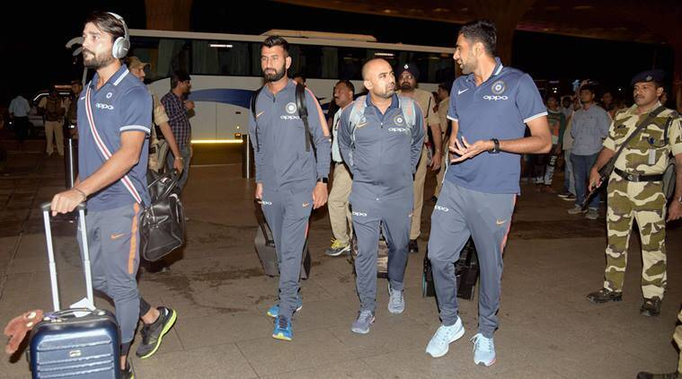 India travelled to South Africa on Thursday