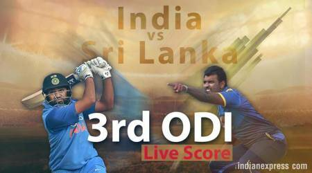Live Cricket Score, India vs Sri Lanka, 3rd ODI at Visakhapatnam: India struggle to control surging Sri Lanka
