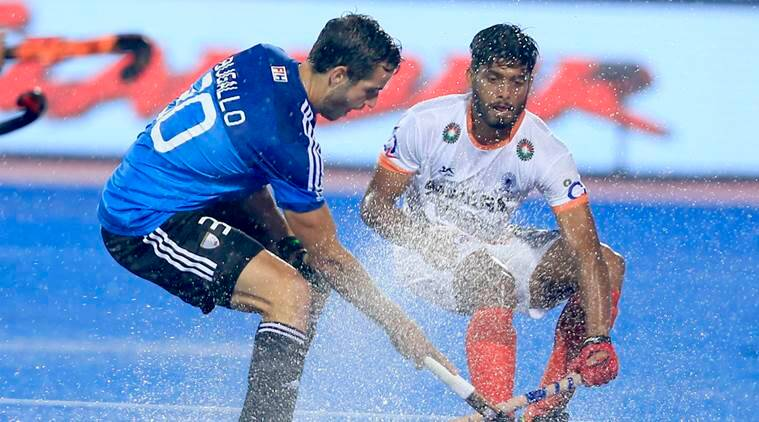 India blanked by Argentina
