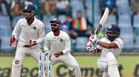 India vs Sri Lanka 3rd Test Day 5 Live Score, Live Cricket Score: Sri Lanka resume after Tea with Dickwella, Roshen