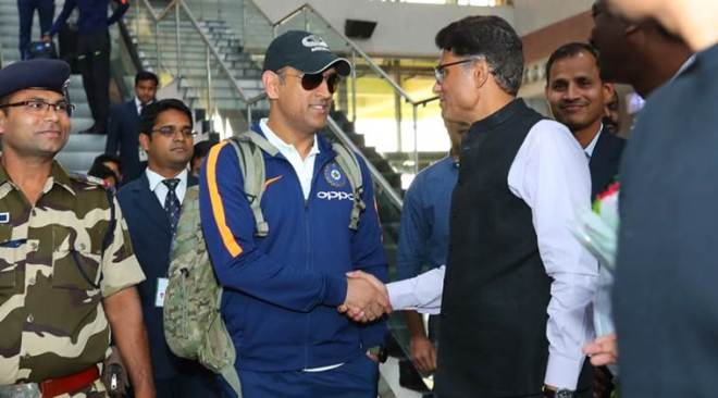 Team India arrives in Visakhapatnam for series-deciding third ODI vs Sri Lanka