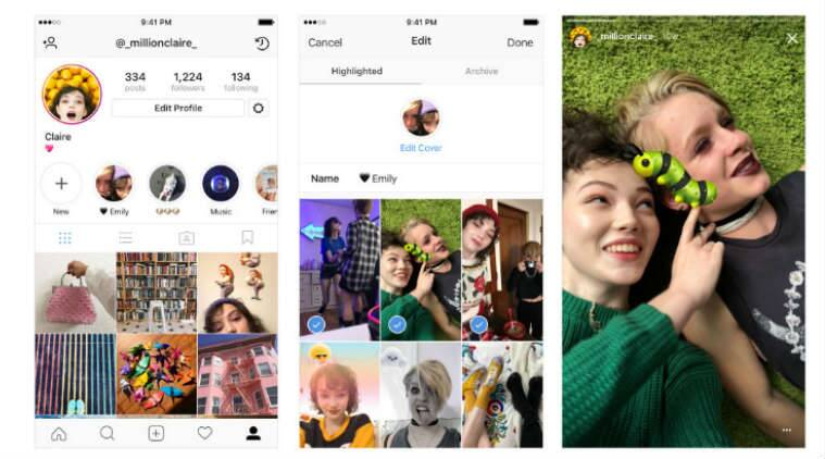 Instagram Stories Stories Hghlights Stories Archive new features how to use