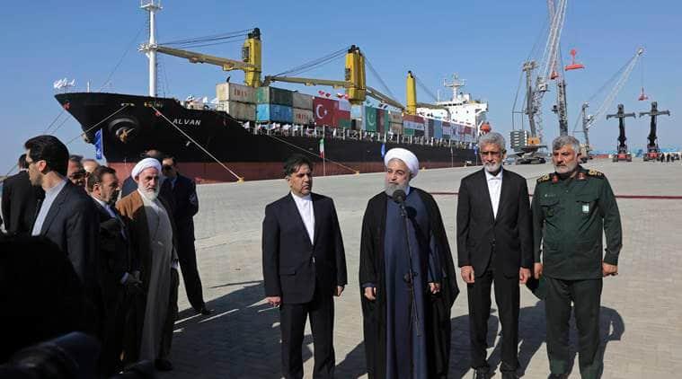 Chabahar port, Iran, Afghanistan, India Chabahar port