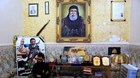Ali Jayad al-Salhi: From sniper to saint, showing Iraqi Shiite militias' power