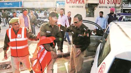 Chandigarh: Biker hits India Reserve Battalion constable, arrested