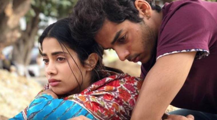 janhvi kapoor and ishaan khatter in dhadak