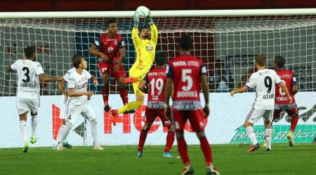 ISL, Indian Super League, FC Pune City, Jamshedpur FC, sports news, football, Indian Express