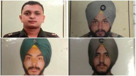 J-K: Army major among four soldiers killed in Pak firing onLoC