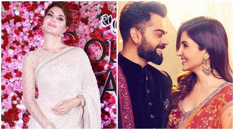 Virat Kohli Wedding.When Jacqueline Fernandez Almost Confirmed Anushka Sharma Virat