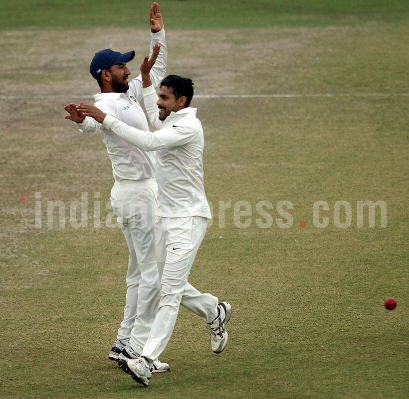 Ravindra Jadeja photos, Jadeja photos, India vs Sri lanka photo