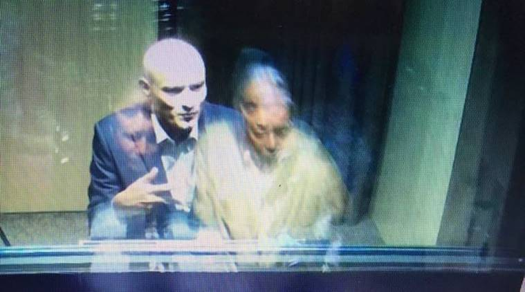 Sushma tears apart Pak's 'shoe' theory post Jadhav-family meet
