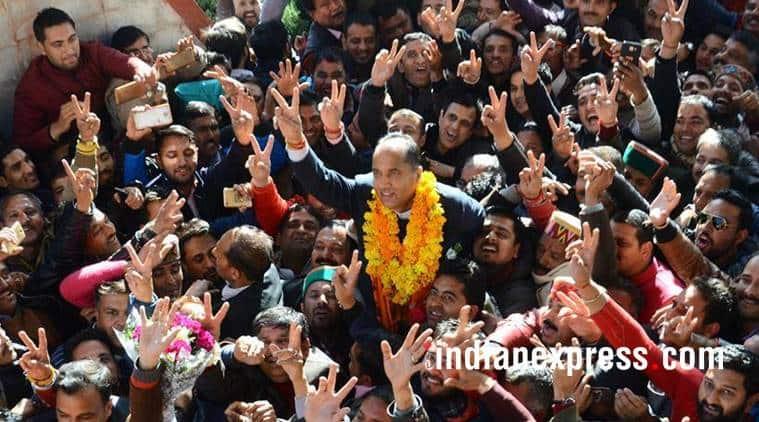 jairam thakur photos, himachal new cm images, who is jairam thakur, bjp himachal pradesh, jairam thakur pics, new himachal cm pictures, indian express