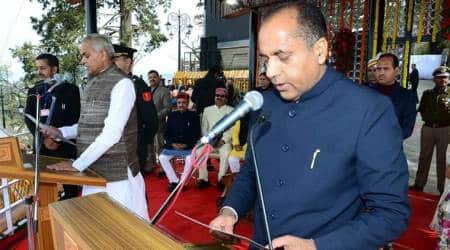 Himachal chief minister, jai ram thakur, himachal CM, himachal BJP government, kangra, himachal news, dharamsala, indian express