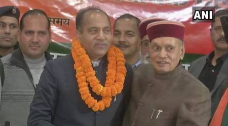 Himachal Pradesh: Bragta supporters meet Dhumal to lodge protest, Jaryal sympathisers fume too