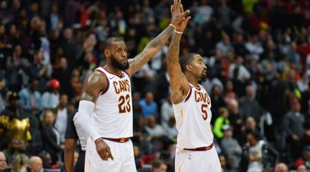LeBron James, Kevin Love lead Cleveland Cavaliers' past Atlanta Hawks for 10th win in a row