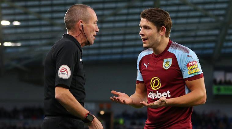 FA charges Burnley defender James Tarkowski with violent conduct