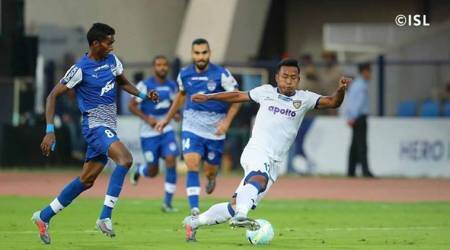 ISL 2017: Chennaiyin FC end Bengaluru FC's unbeaten run at home with 2-1 win