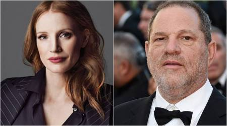 Jessica Chastain was told to 'calm down' over Harvey Weinstein comments