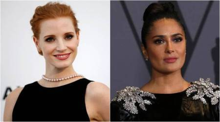 Jessica Chastain applauds Salma Hayek for speaking against Harvey Weinstein