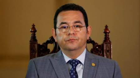Isolated at home, Guatemala president moves close to US with Israel move