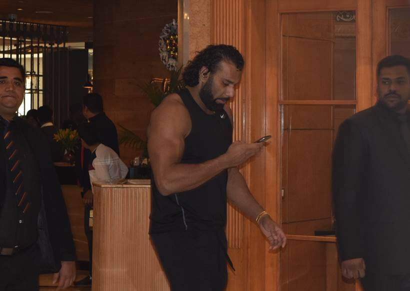 Jinder Mahal vs Triple H was the headline of the WWE event in New Delhi