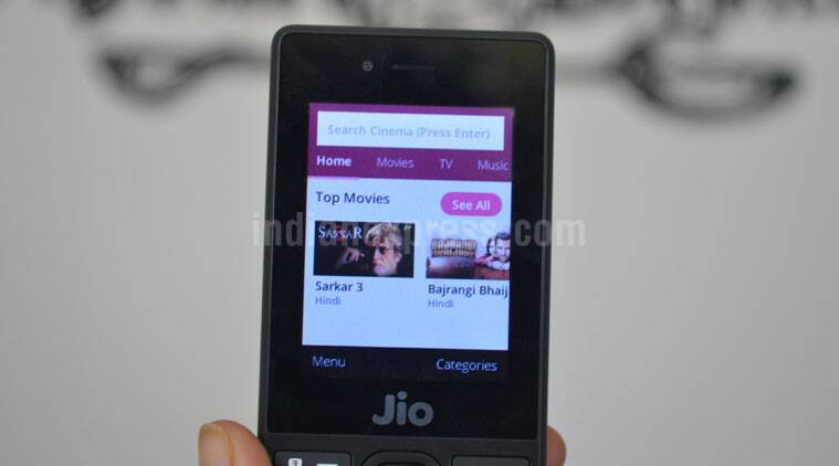 Reliance Jio Phone apps