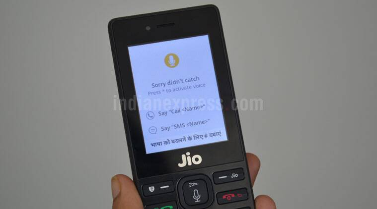 Reliance Jio Phone Assistant