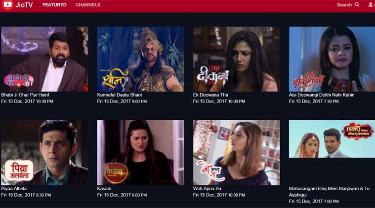 Reliance Jio Launches Web Version of JioTV