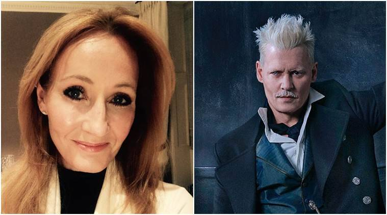 "J.K. Rowling on Thursday defended the decision to cast Johnny Depp in the next ""Fantastic Beasts"" movie"