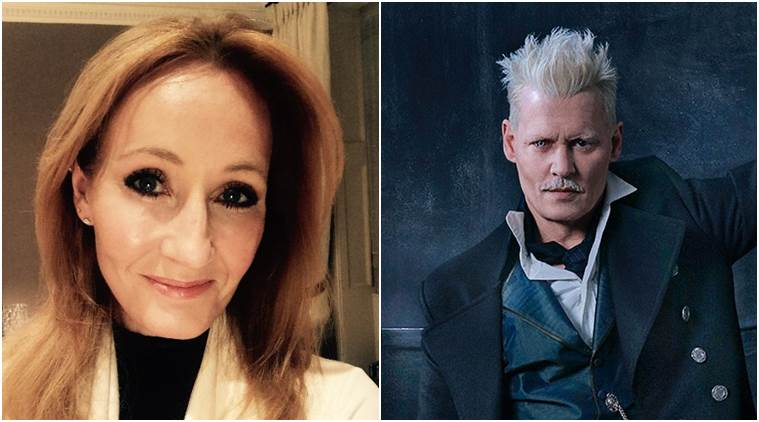 """J.K. Rowling on Thursday defended the decision to cast Johnny Depp in the next """"Fantastic Beasts"""" movie"""