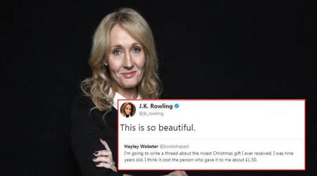 JK Rowling shared a heartwarming story about Christmas and reading it will melt your heart