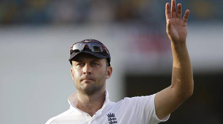 Jonathan Trott announced his retirement from international cricket in 2015