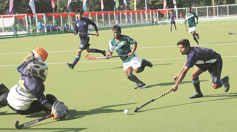 hockey players, indian express, indian sports, Olympic gold medallist former Indian captain Balbir Singh Senior, Balbir singh senior, panjab university, North Zone Inter University Hockey Championship.