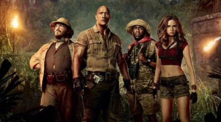 Jumanji Welcome to the Jungle tops domestic box office for third straight weekend