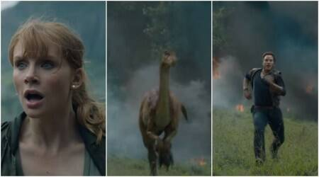 Jurassic World The Fallen Kingdom teaser has dinosaurs running amok, watch video