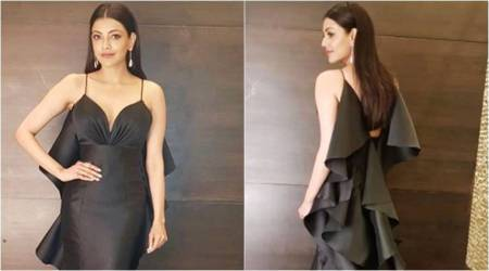 Kajal Aggarwal's gown gives fishy vibes but she carries it off like a stunning mermaid