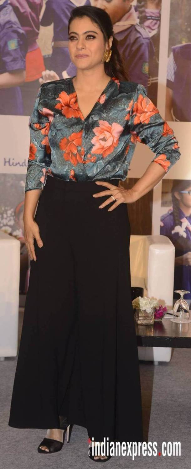 Kajol, Bizarre outfits 2017, Fashion Misses 2017, Worst Outfits 2017