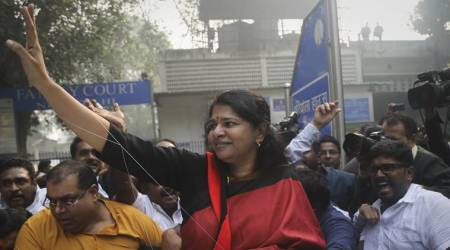 DMK MP Kanimozhi, Lok Sabha, Lok Sabha news, Indian Railways, Indian Railways news, Manual Scavenging