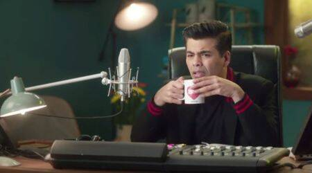 Calling Karan new promo: Karan Johar is stumped by caller's question