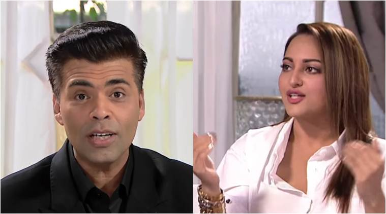 Karan Johar and Sonakshi Sinha had collaborated for the thriller film, Ittefaq