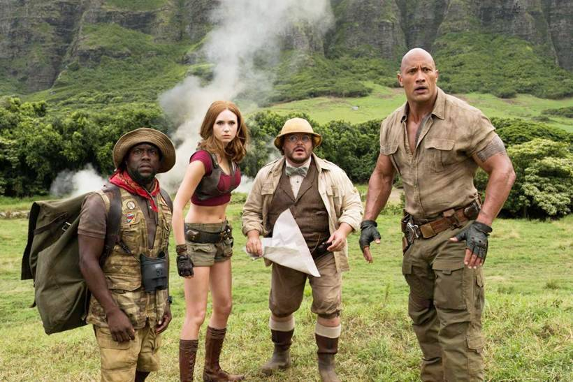 reasons to watch jumanji welcome to the jungle